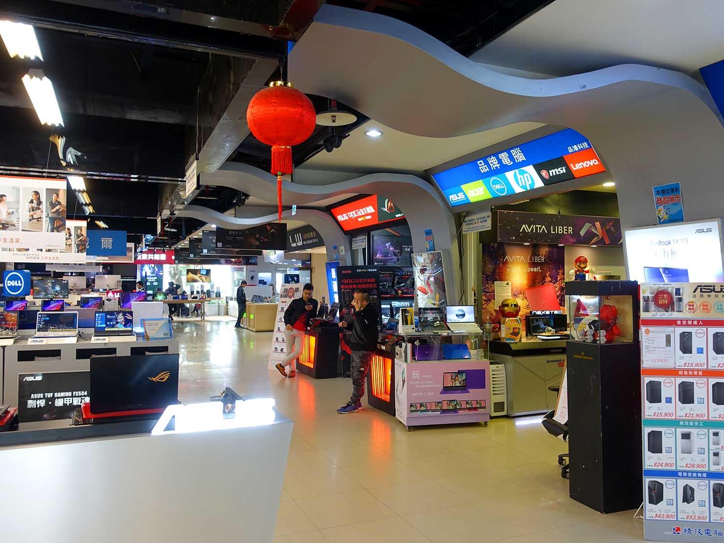 台北・忠孝新生の電気街にある光華商場