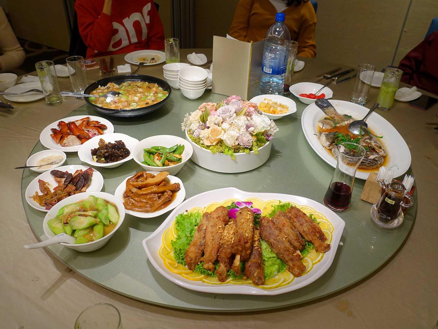 台湾春節前の定番忘年会「尾牙(ウェイヤー)」で振舞われた台湾伝統料理