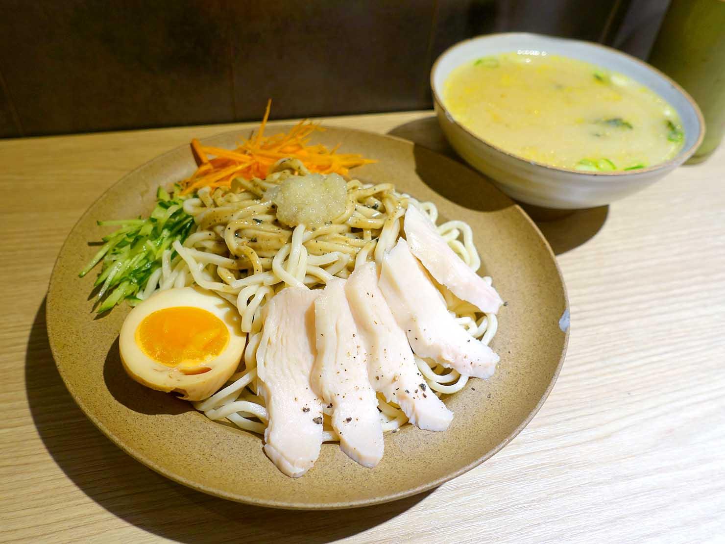 台北駅最寄りのグルメタウン・雙連のおすすめグルメ店「小良絆」の深培胡麻涼麵