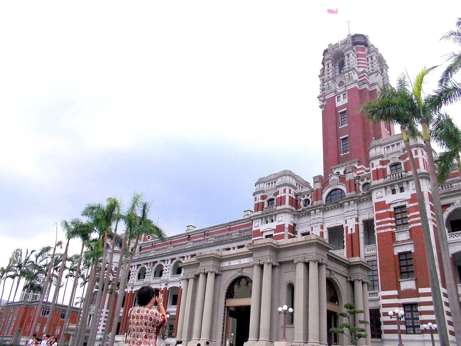 台北・總統府の外観