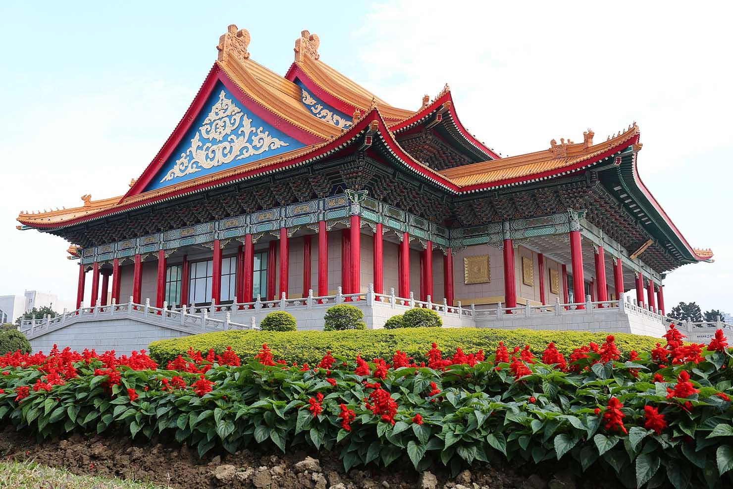 台北・中正紀念堂の「國家音樂廳」