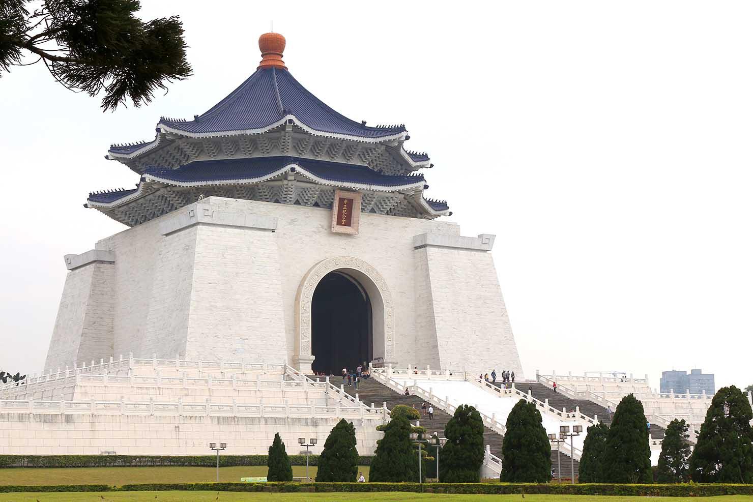 台北・中正紀念堂の外観