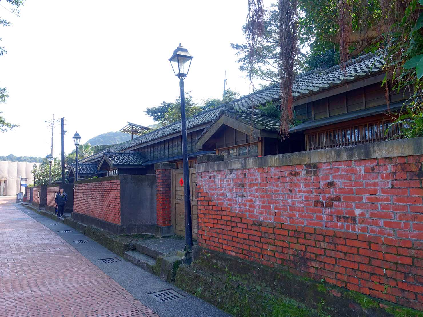 台北・金瓜石黃金博物館敷地内にある日本家屋