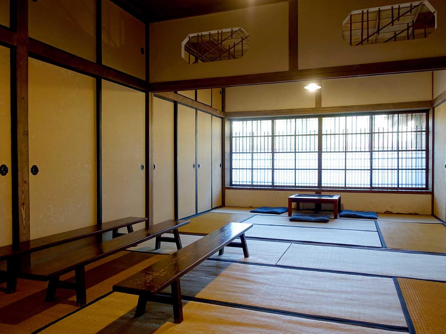 台北・金瓜石黃金博物館敷地内にある日本家屋の和室