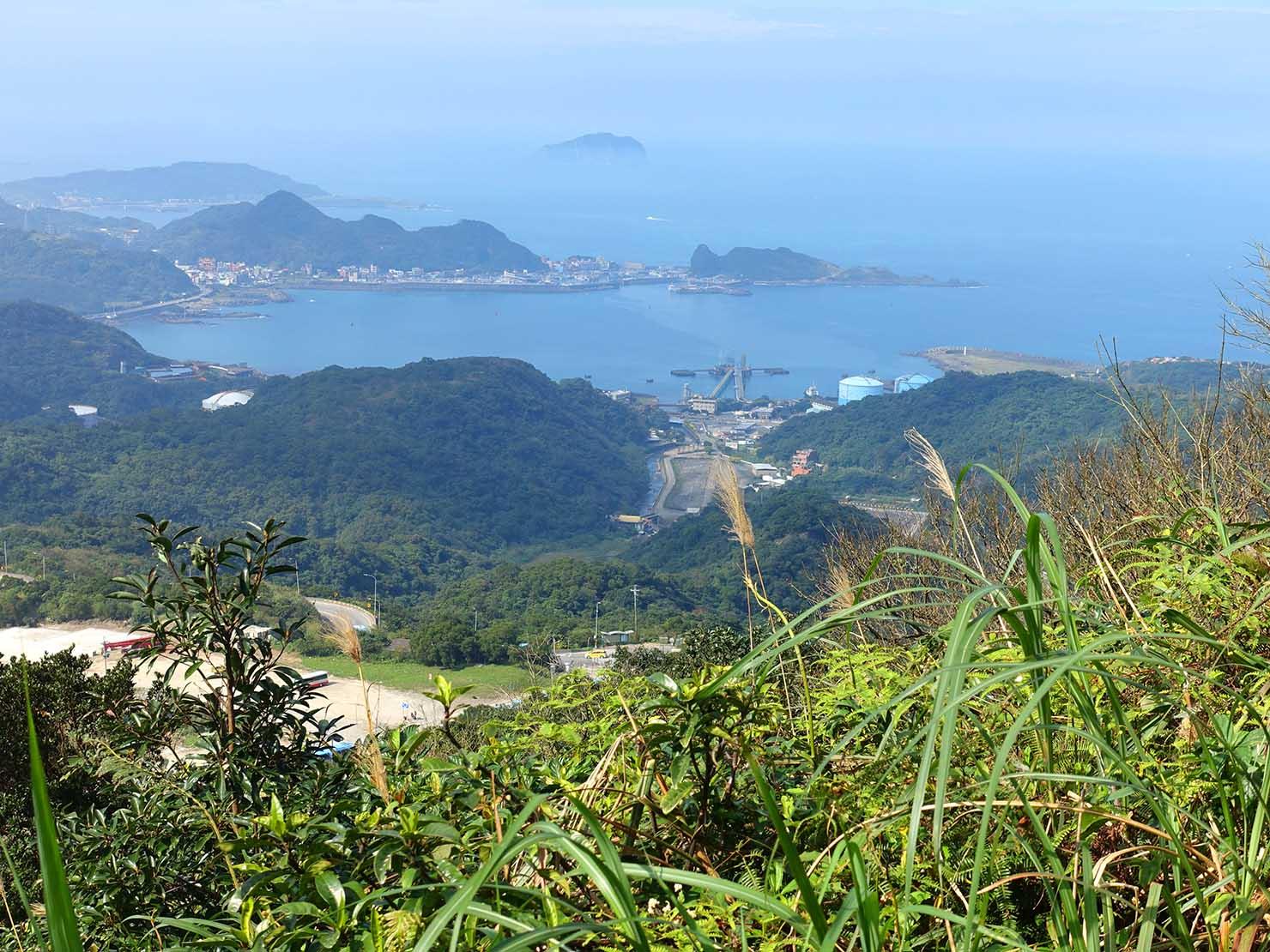 台北・九份「琉瑯路步道」から眺める台湾北海岸