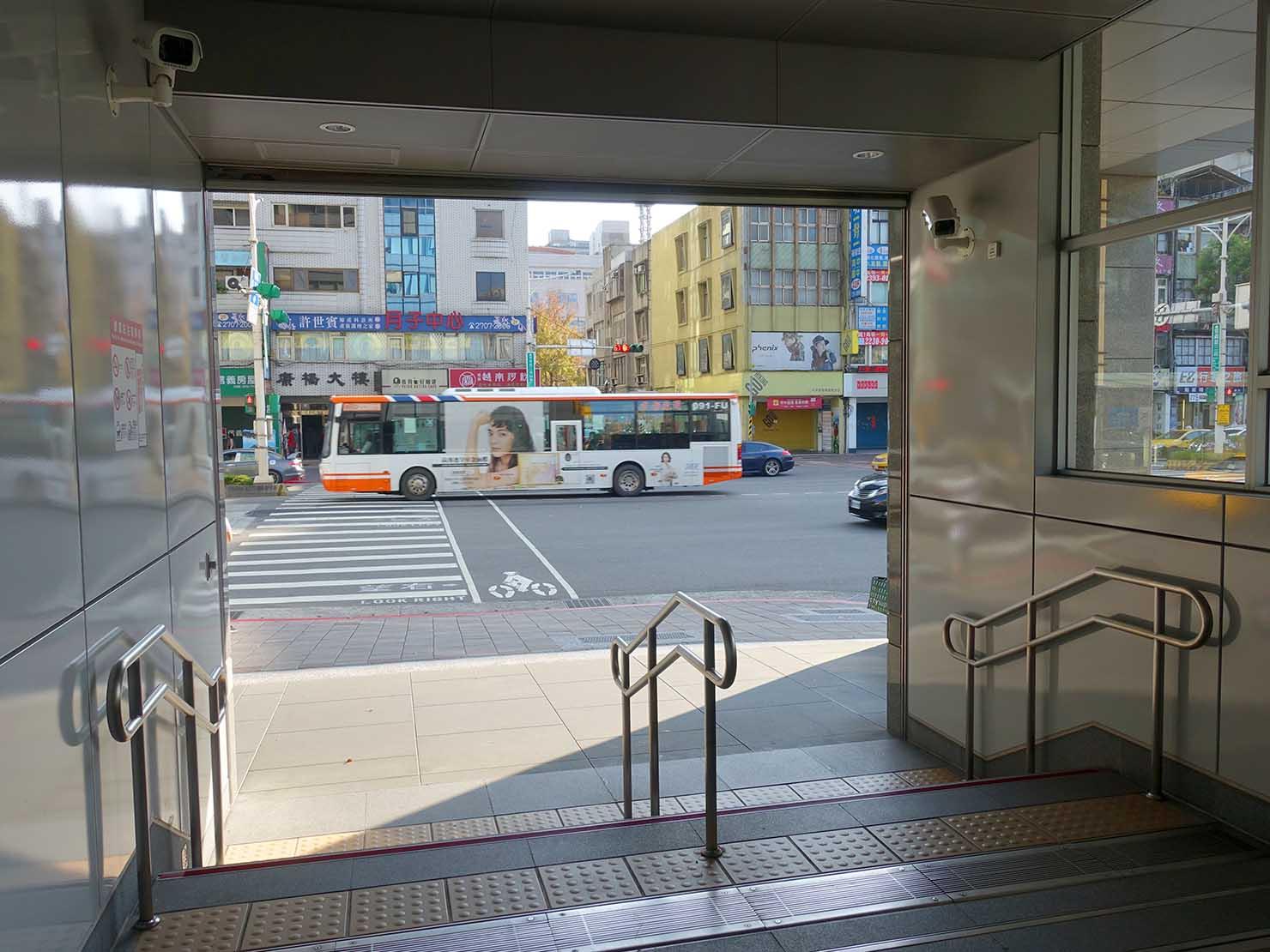 MRT大安駅1番出口