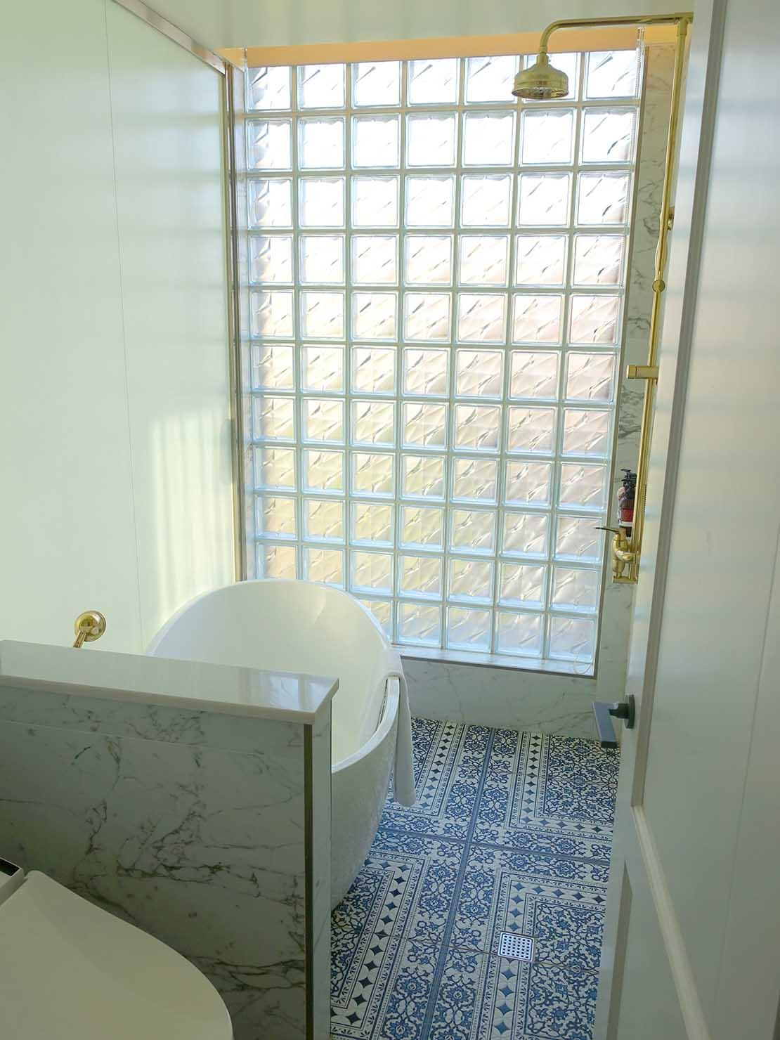 台北・大安の最高におしゃれなブティックホテル「chez nous 司旅」經典房(クラシックルーム)のバスルーム