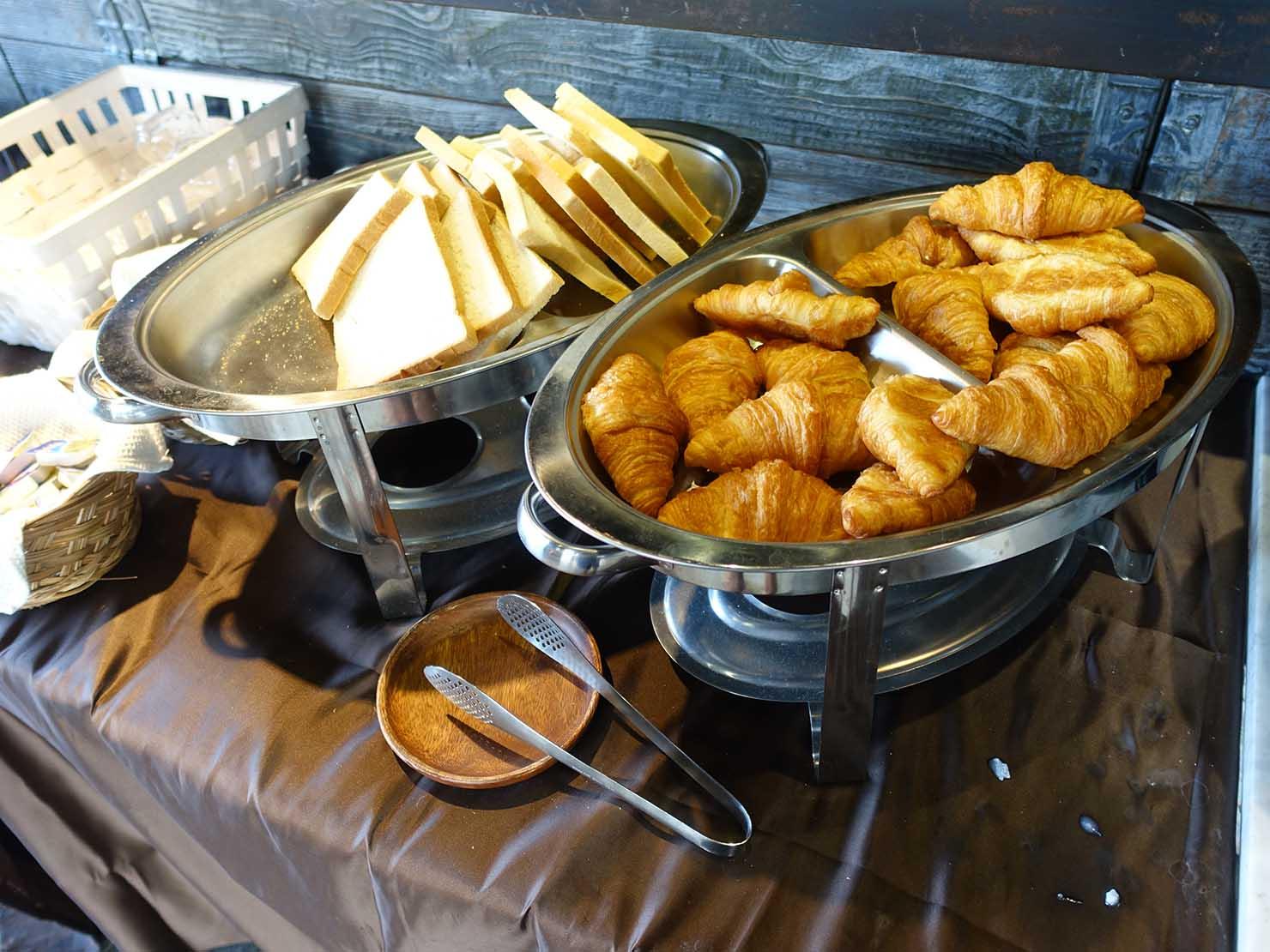 台北・大安の最高におしゃれなブティックホテル「chez nous 司旅」朝食のパン