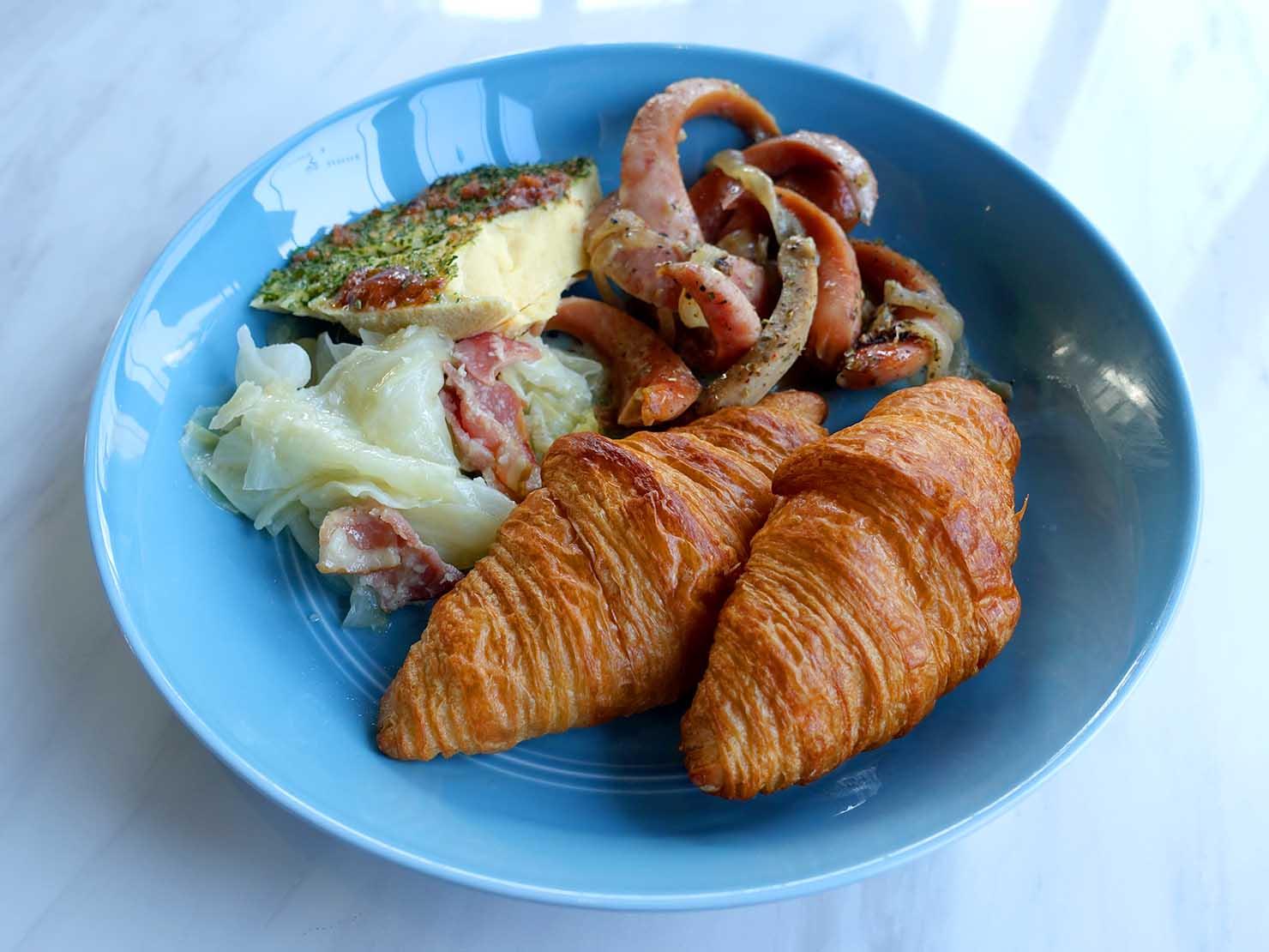 台北・大安の最高におしゃれなブティックホテル「chez nous 司旅」の朝食