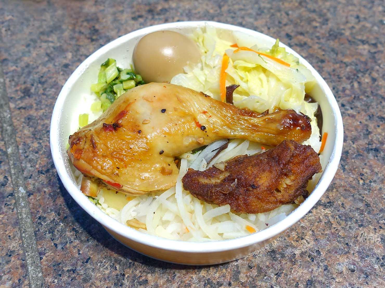 台湾版鉄道弁当・台鐵便當の「圓木雞腿便當」