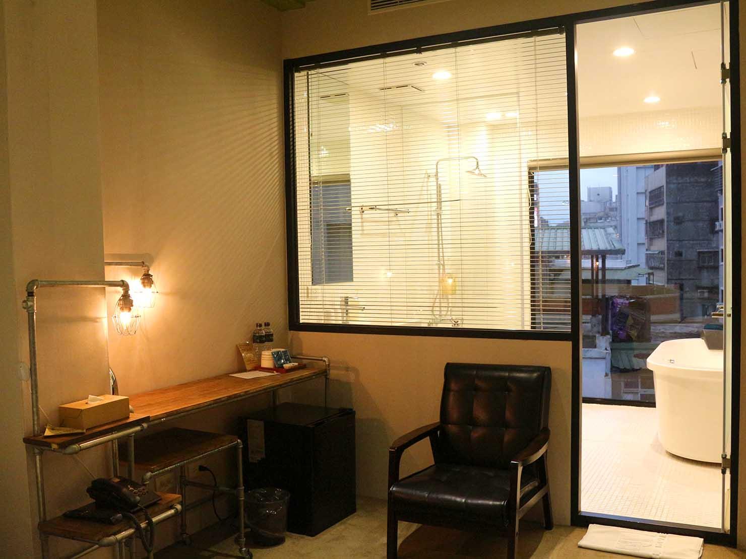 台北・西門町のLGBTフレンドリーホテル「町・記憶旅店 Cho Hotel」行政套房(Executive Double)