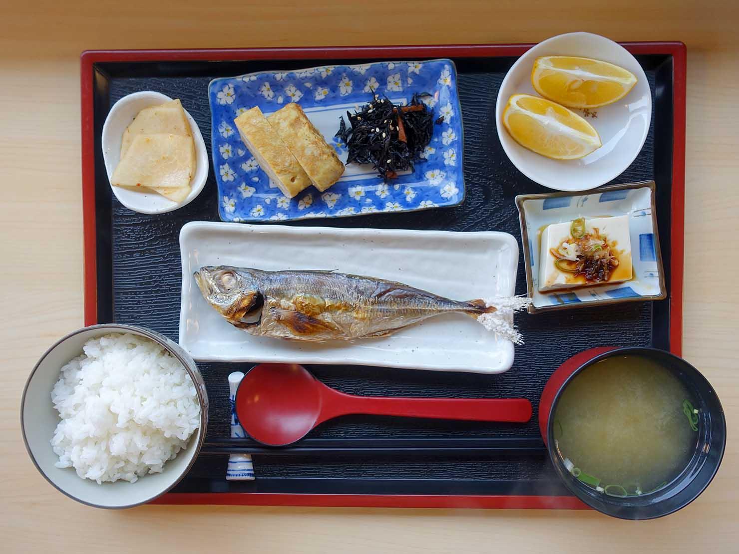 台北・九份のおすすめゲストハウス「九份小町」の朝食