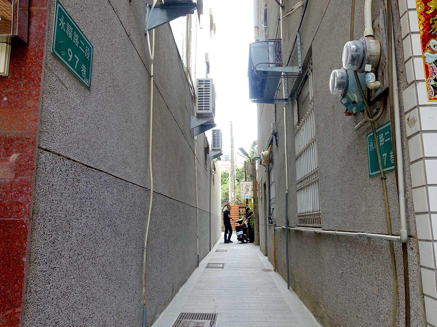 台南・永福路二段97巷