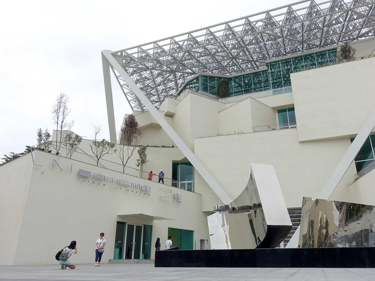 台南の注目スポット「台南市美術館二館」の外観
