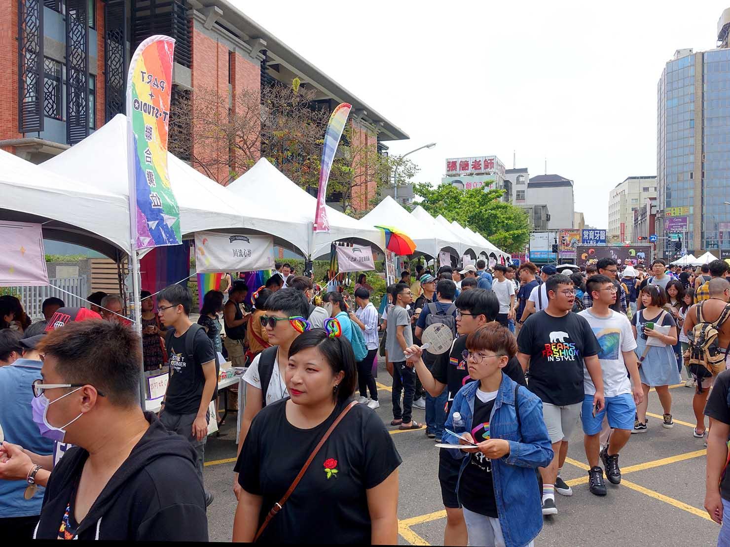 台南彩虹遊行(台南レインボーパレード)2019の会場