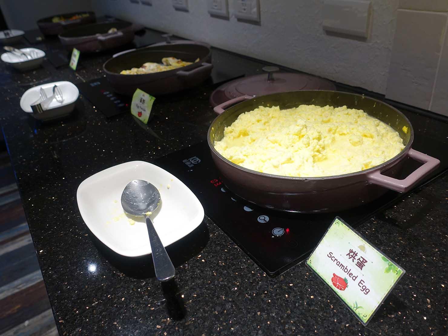 高雄・西子灣の港に立つ海辺のホテル「碧港良居 Watermark Hotel」の朝食ビュッフェ(洋食)