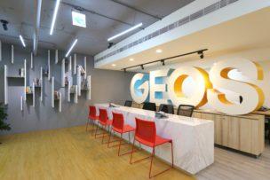 「ジオス台湾(GEOS)」のカウンター