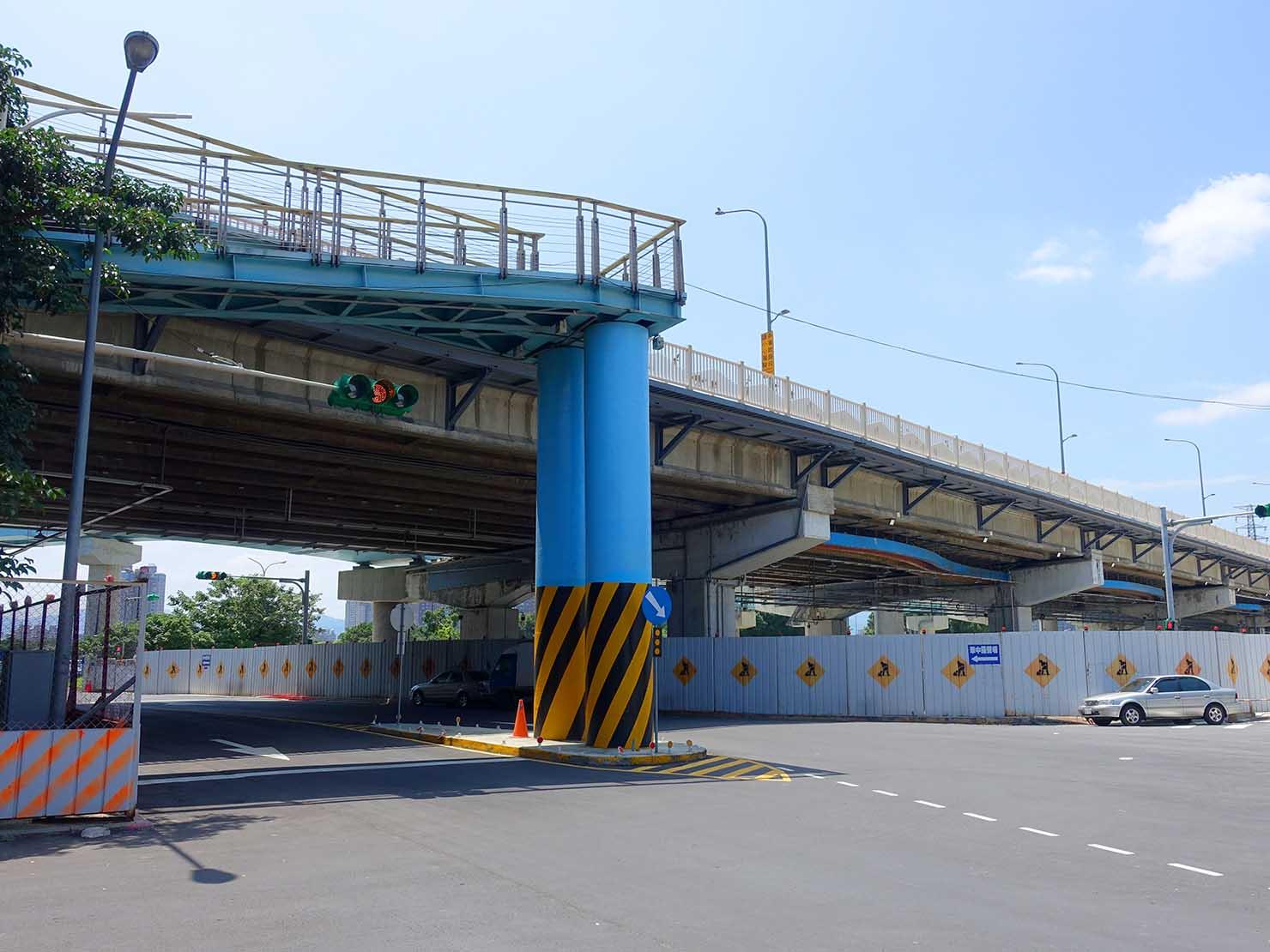 台北一周出発前の華中橋