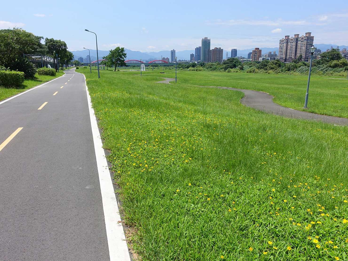 台北一周自転車道「古亭河濱公園」