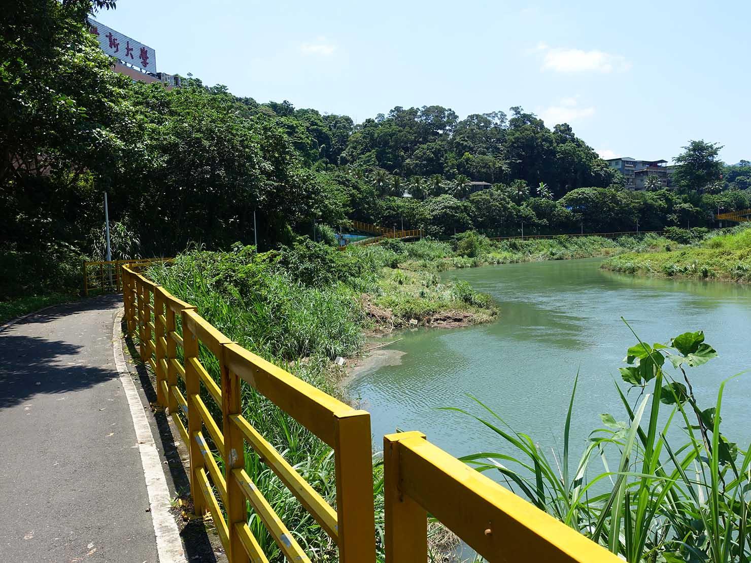 台北一周自転車道「景美河濱公園」
