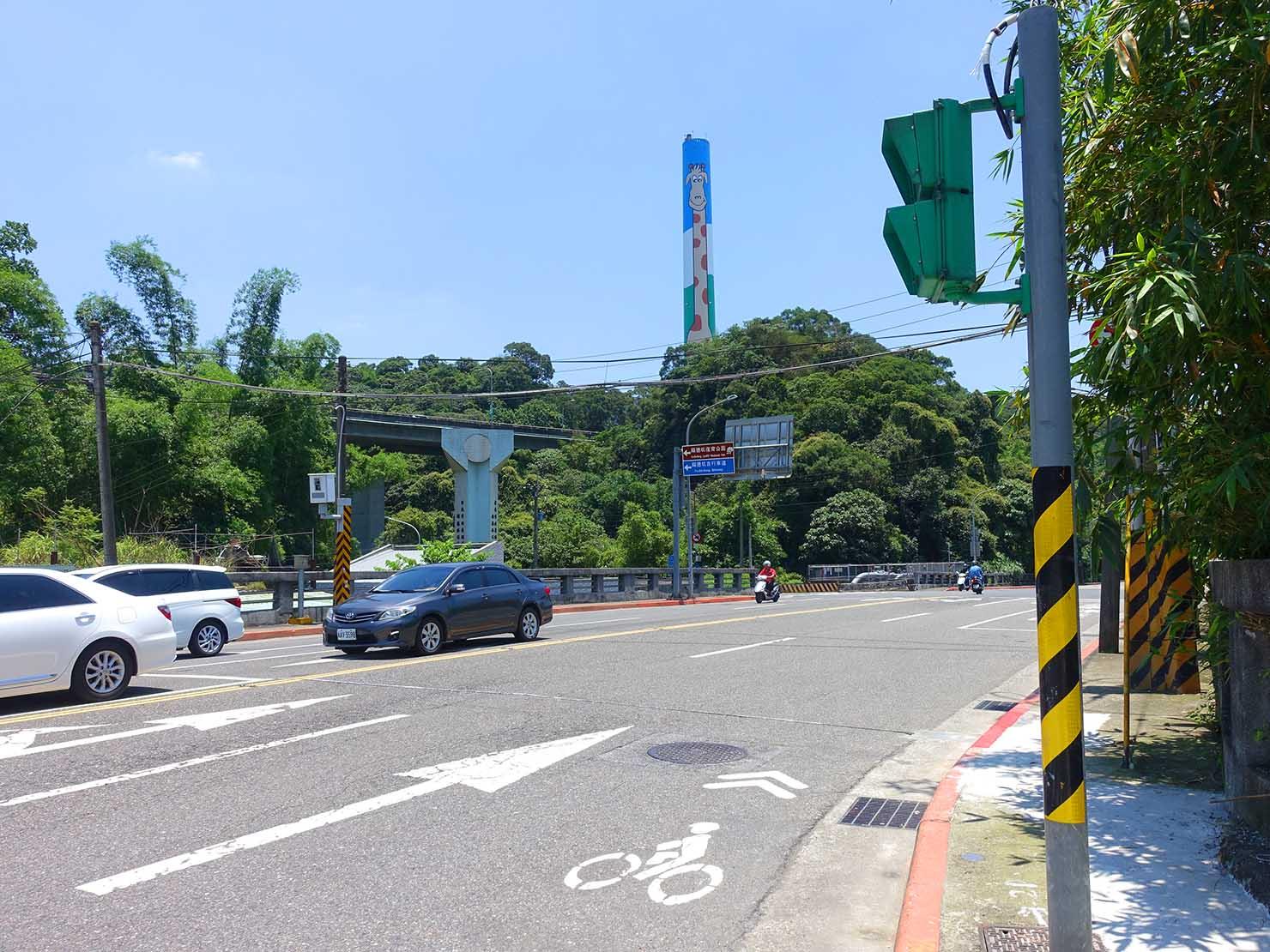 台北一周自転車道「木柵路五段」