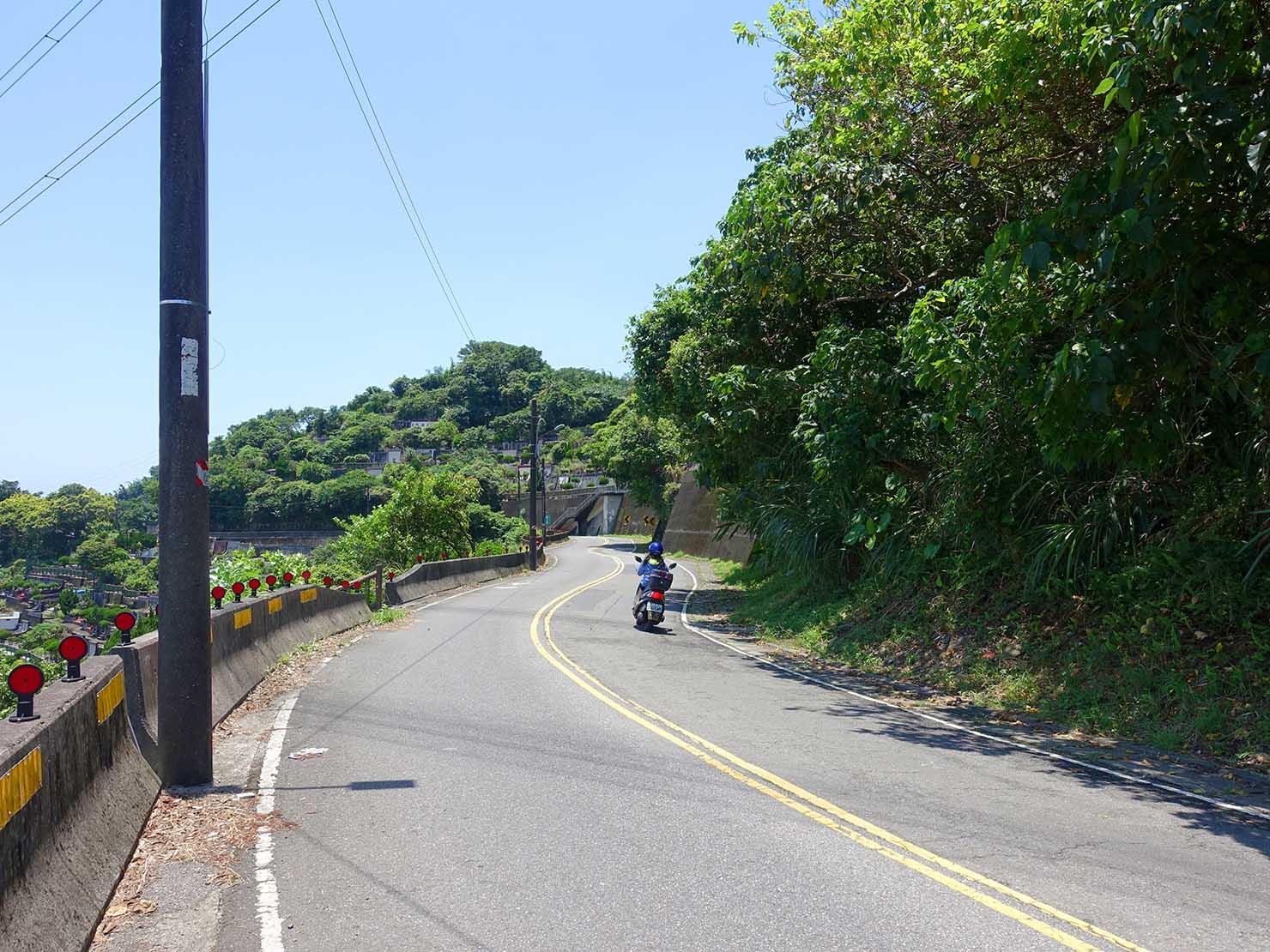 台北一周自転車道「福德坑環保復育公園」の頂上周辺