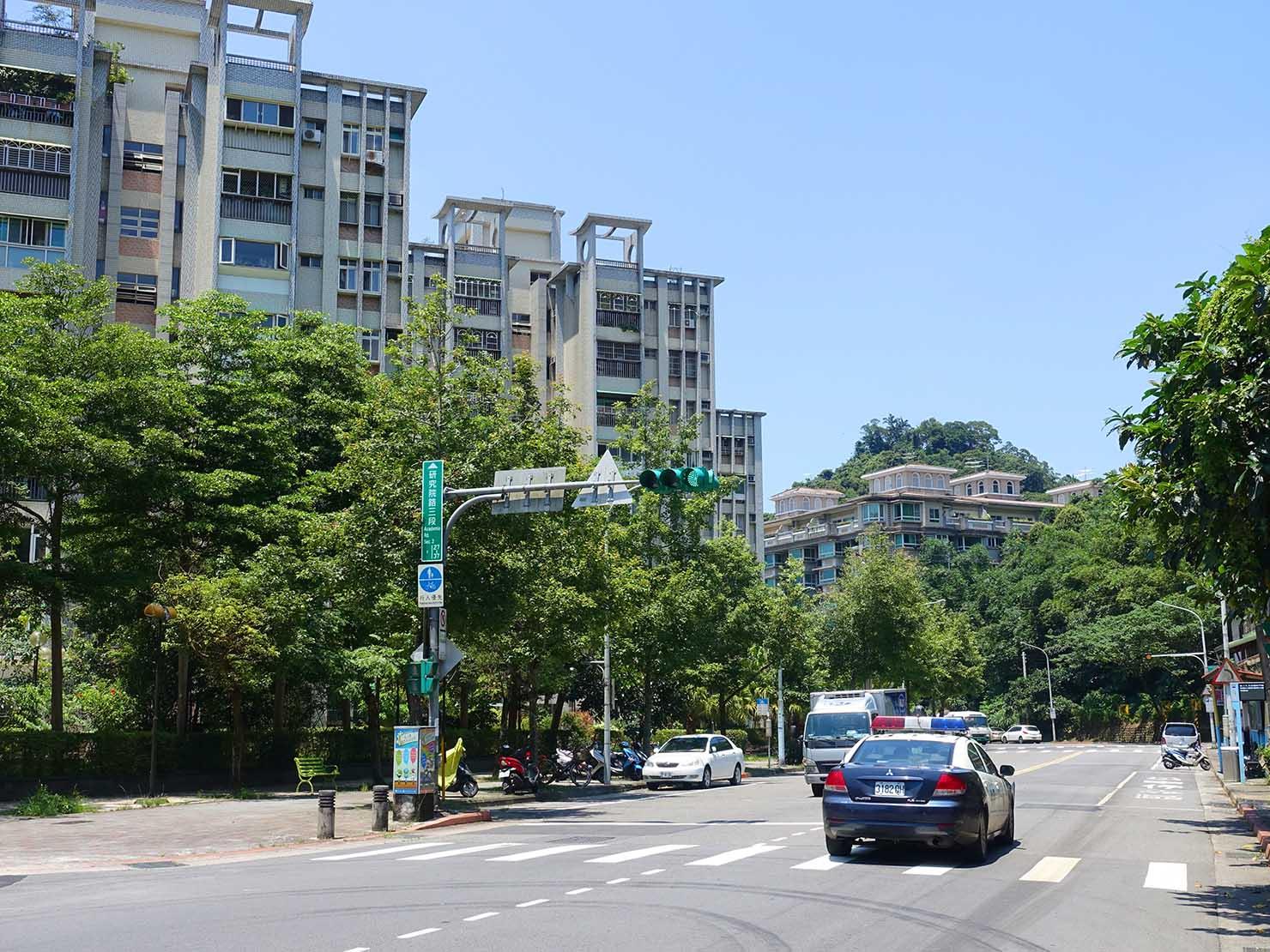 台北一周自転車道「研究院路三段」