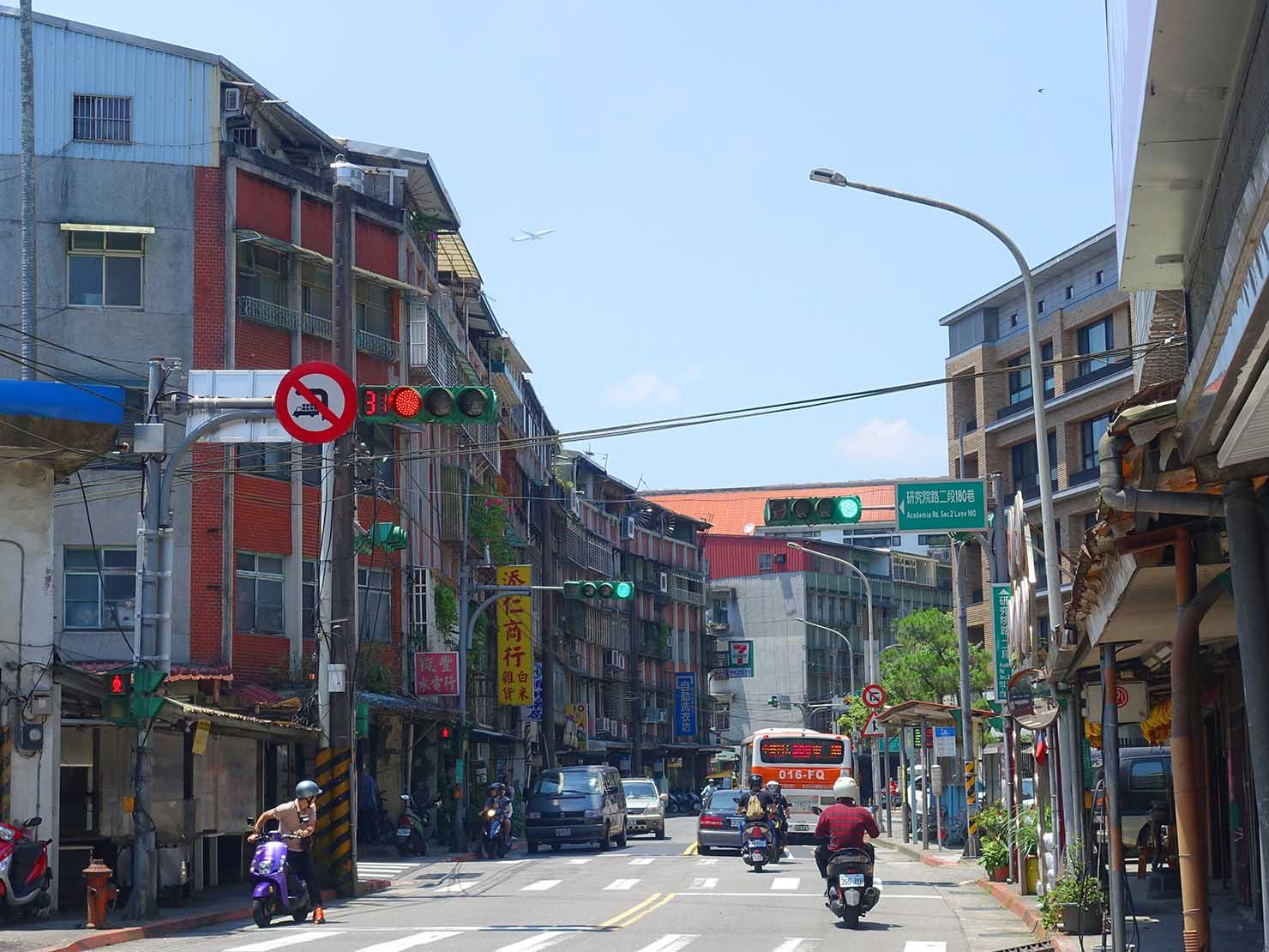 台北一周自転車道「研究院路二段」