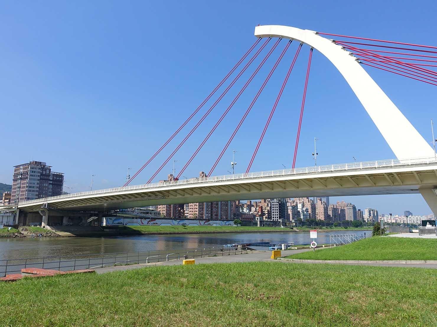 台北一周自転車道「大佳河濱公園」