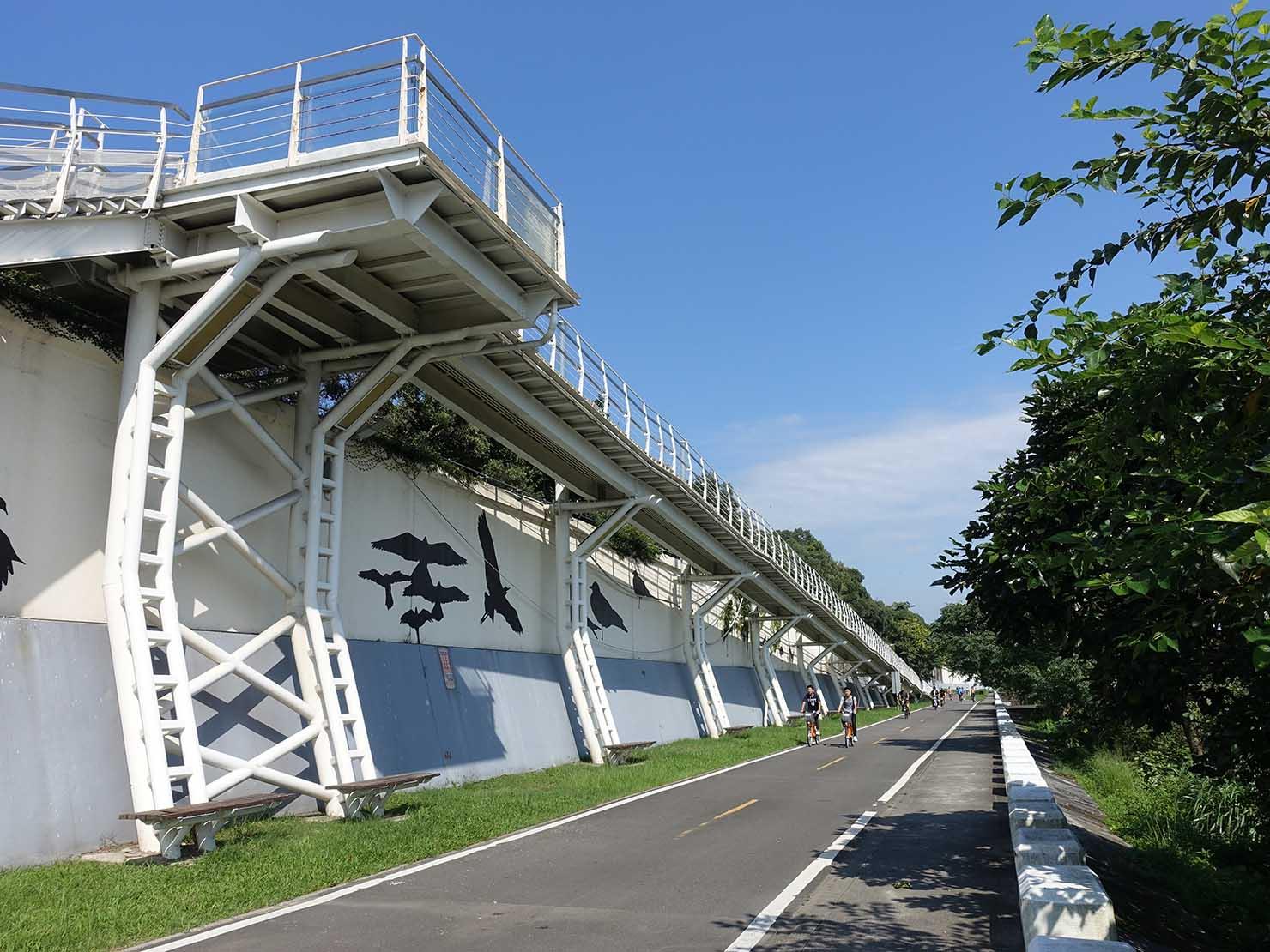 台北一周自転車道「淡水河自行車道」