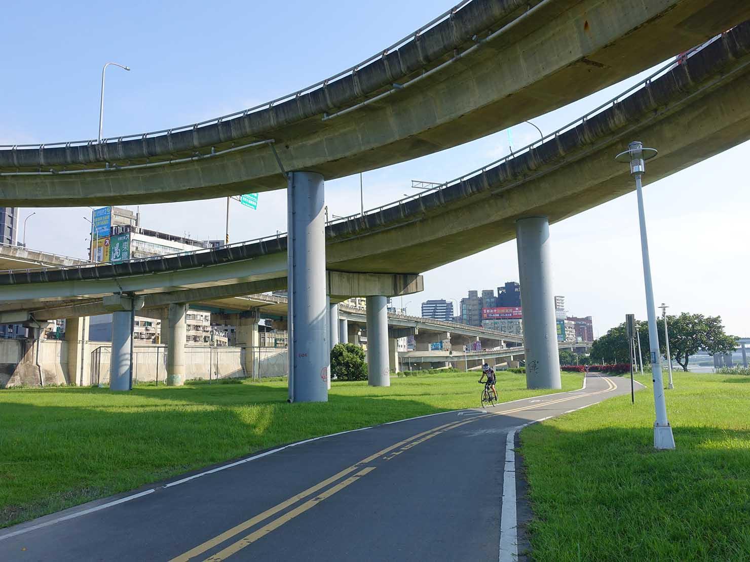 台北一周自転車道「延平河濱公園」