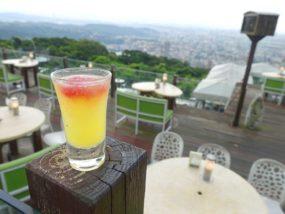 台北・陽明山のレストラン「草山夜未眠」のアペリティフ