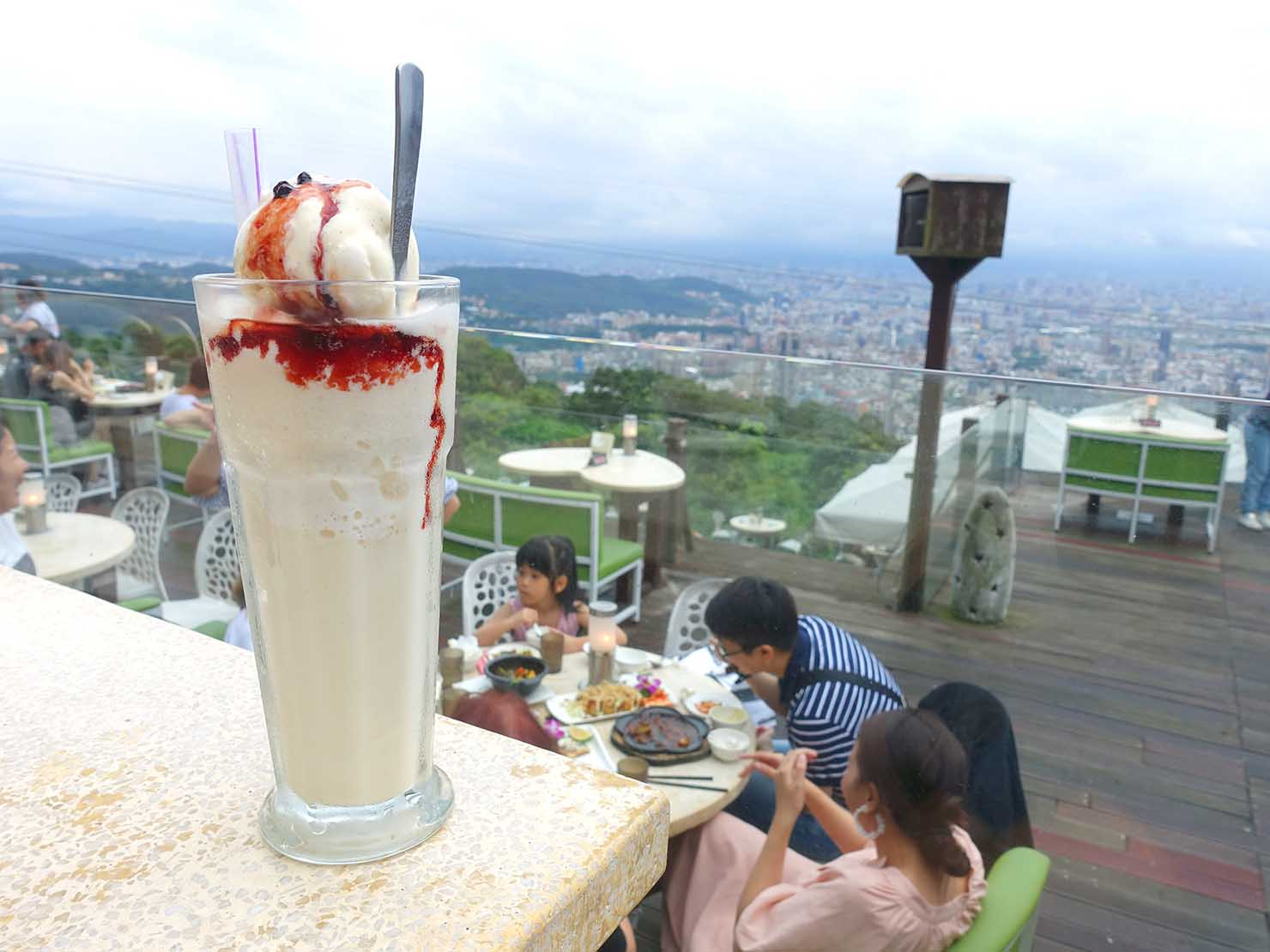 台北・陽明山のレストラン「草山夜未眠」の白色香戀