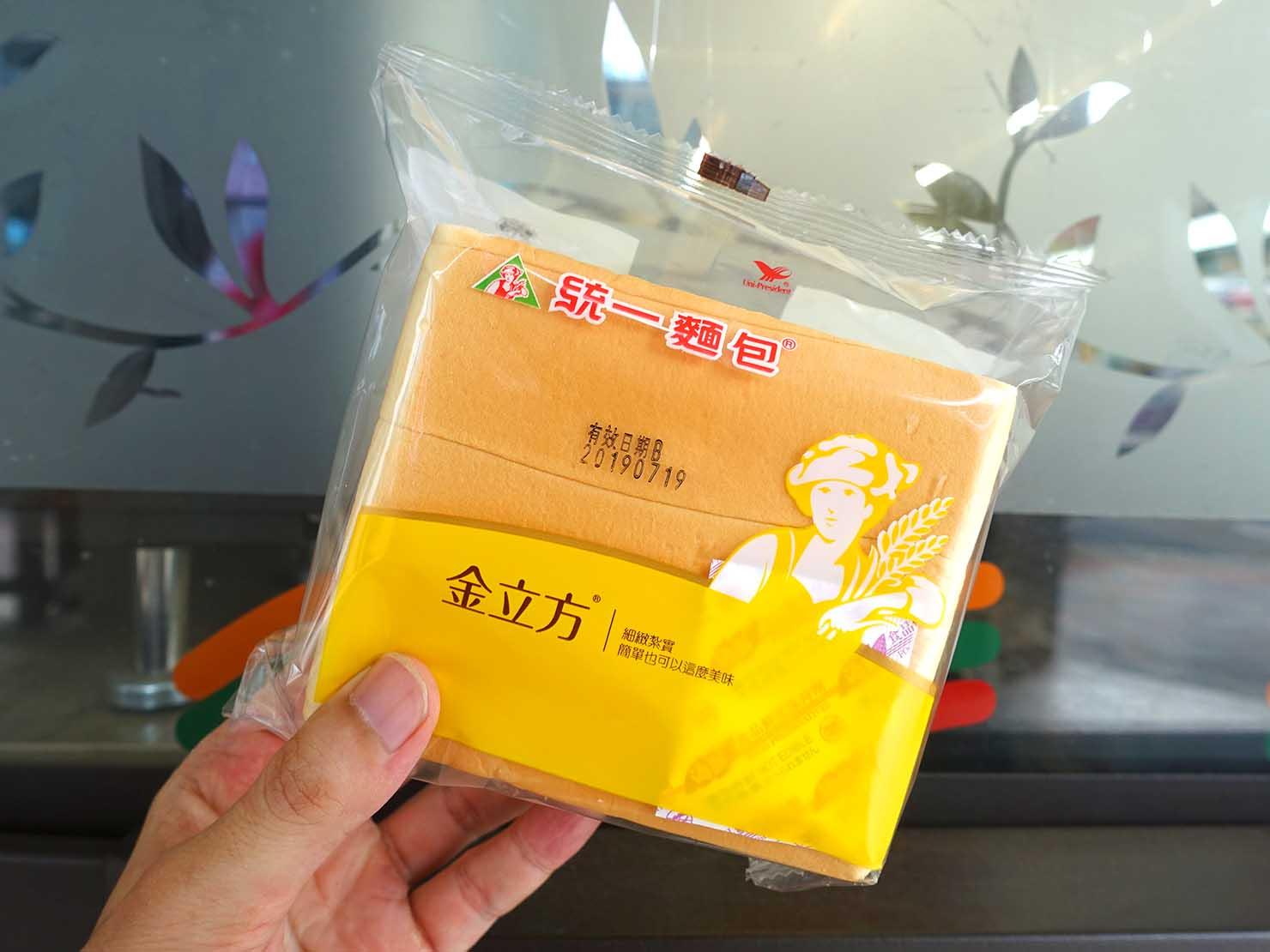 台湾のコンビニでよく食べているおやつ「金立方」