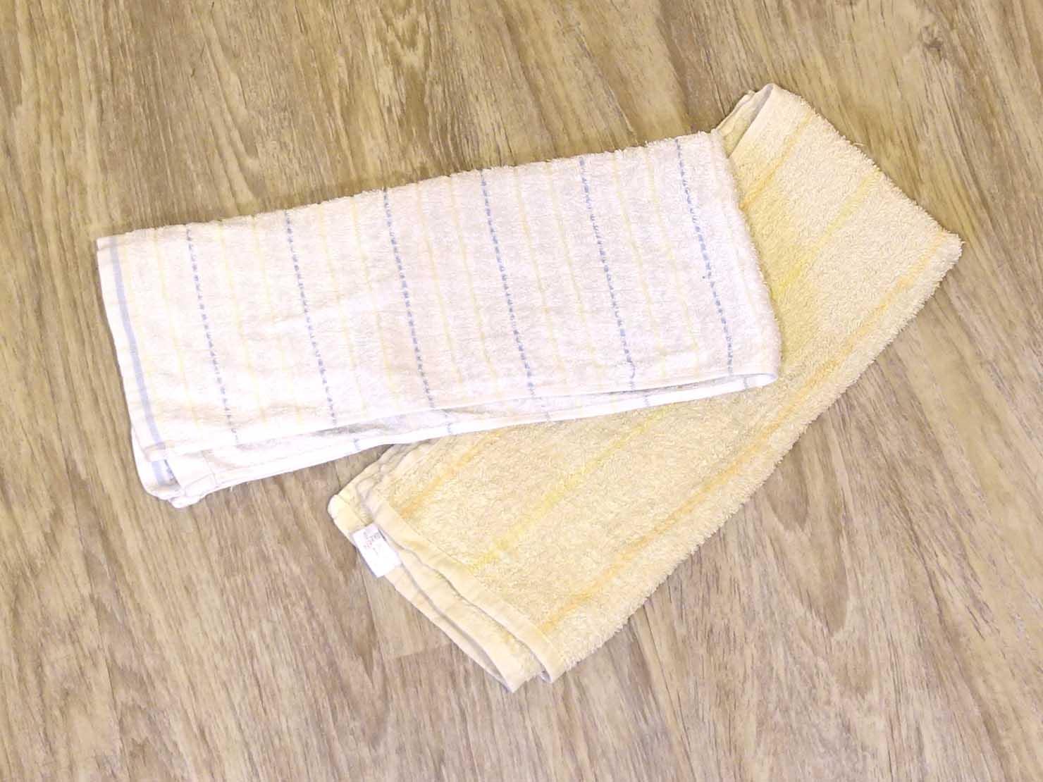 ジムでのトレーニングに必須のタオル