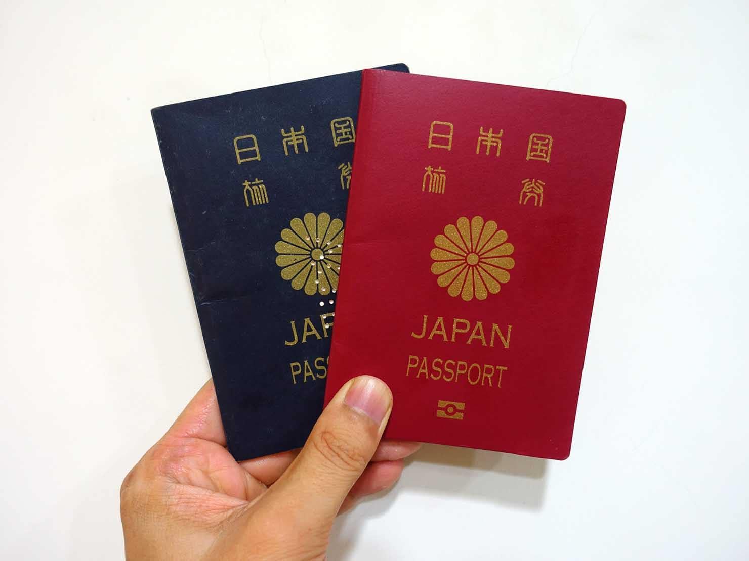 台湾の永住権(永久居留證)申請に必要な書類:日本のパスポート
