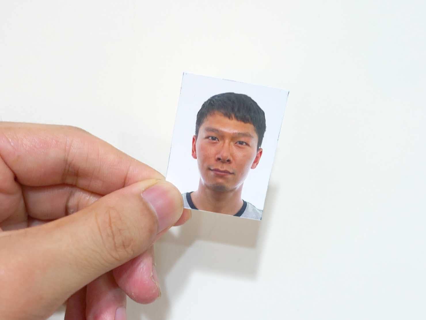 台湾の永住権(永久居留證)申請に必要な書類:顔写真