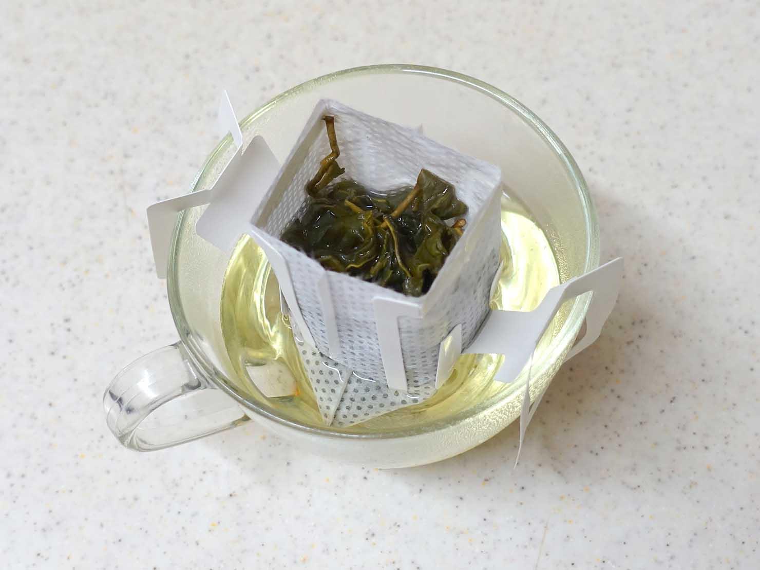 台北101エリアでのおみやげ探しにおすすめのショップ「好丘 Good Cho's」で買ったおみやげ・台湾茶パックの淹れ方