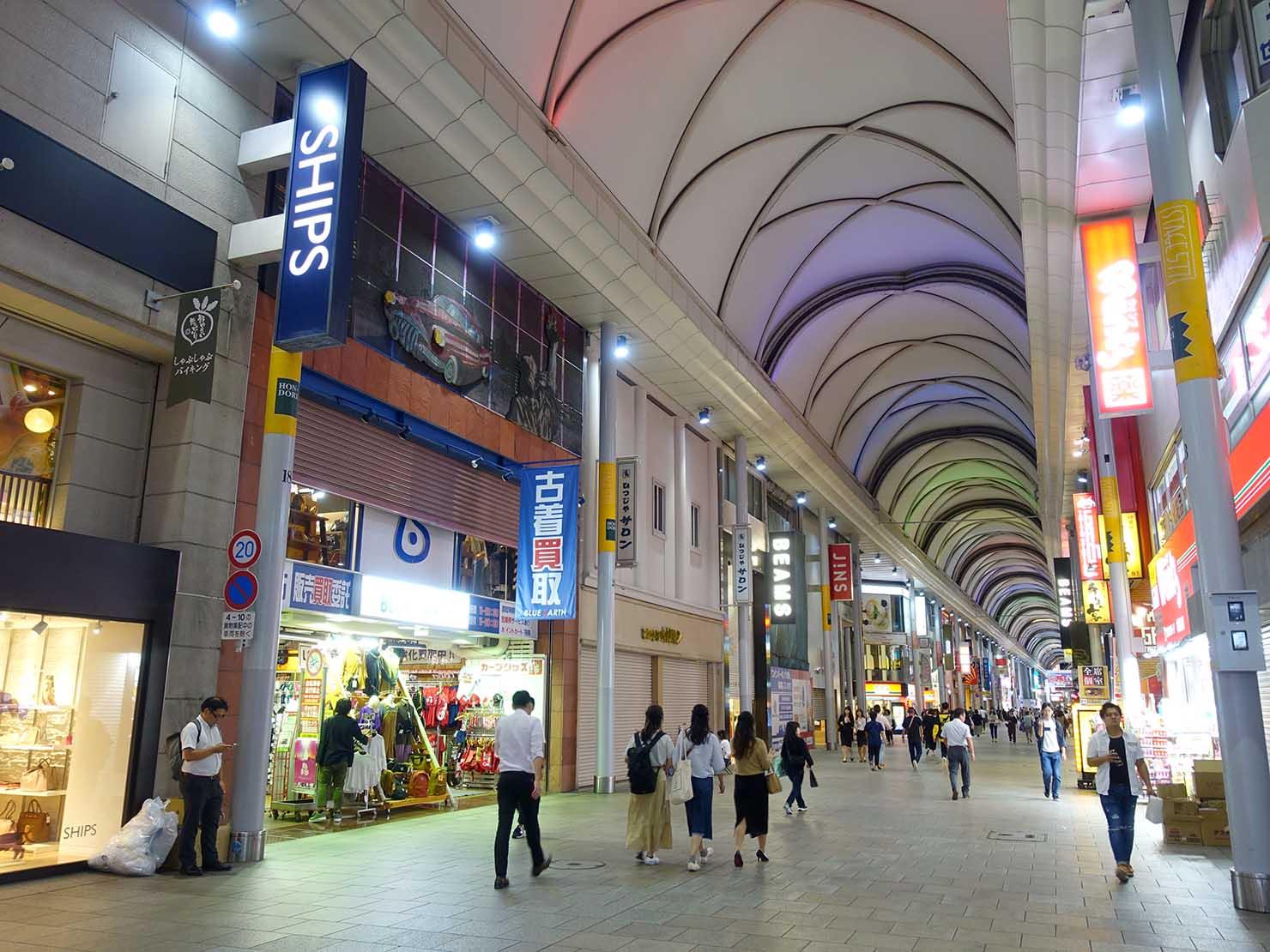 広島・本通商店街