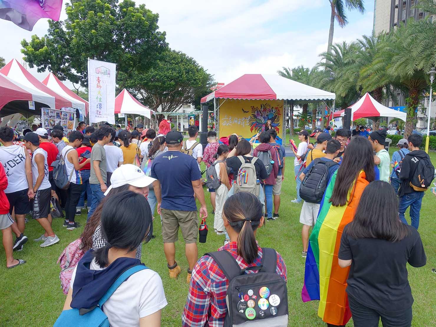 花東彩虹嘉年華(台湾東部LGBTプライド)の会場