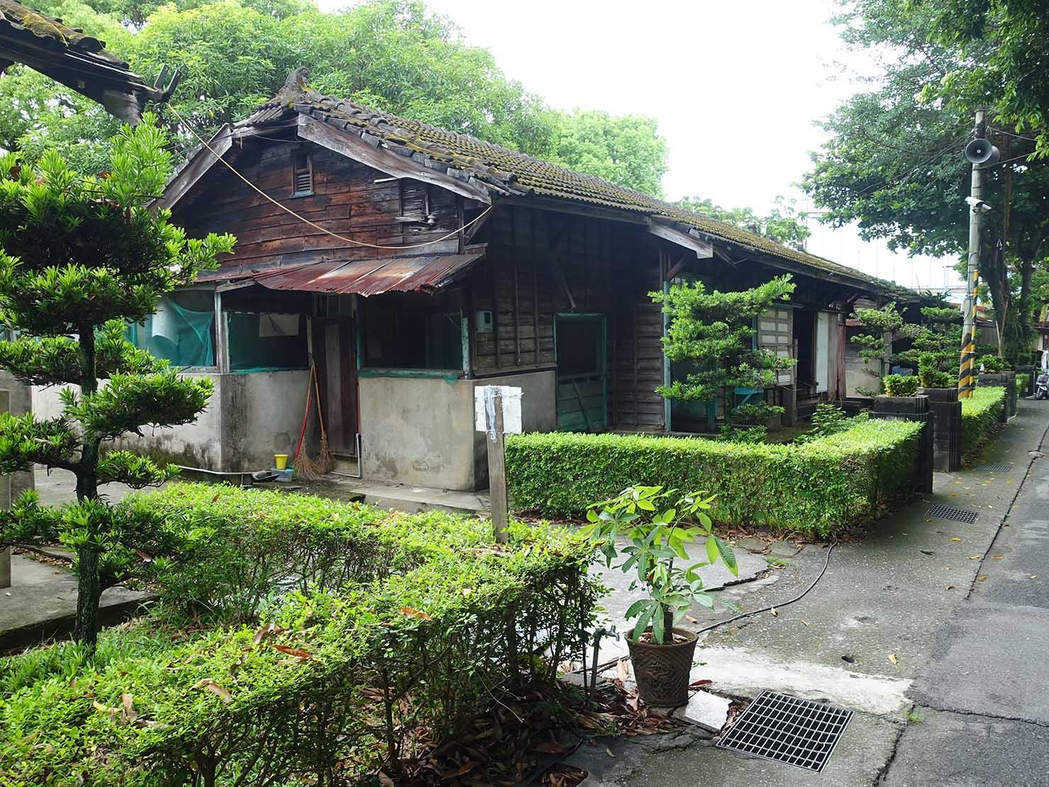 台湾・花蓮のおすすめ観光スポット「將軍府」周辺の木造家屋