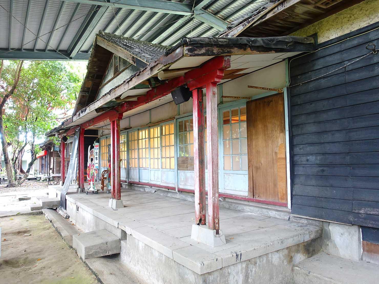台湾・花蓮のおすすめ観光スポット「將軍府」の保護された家屋