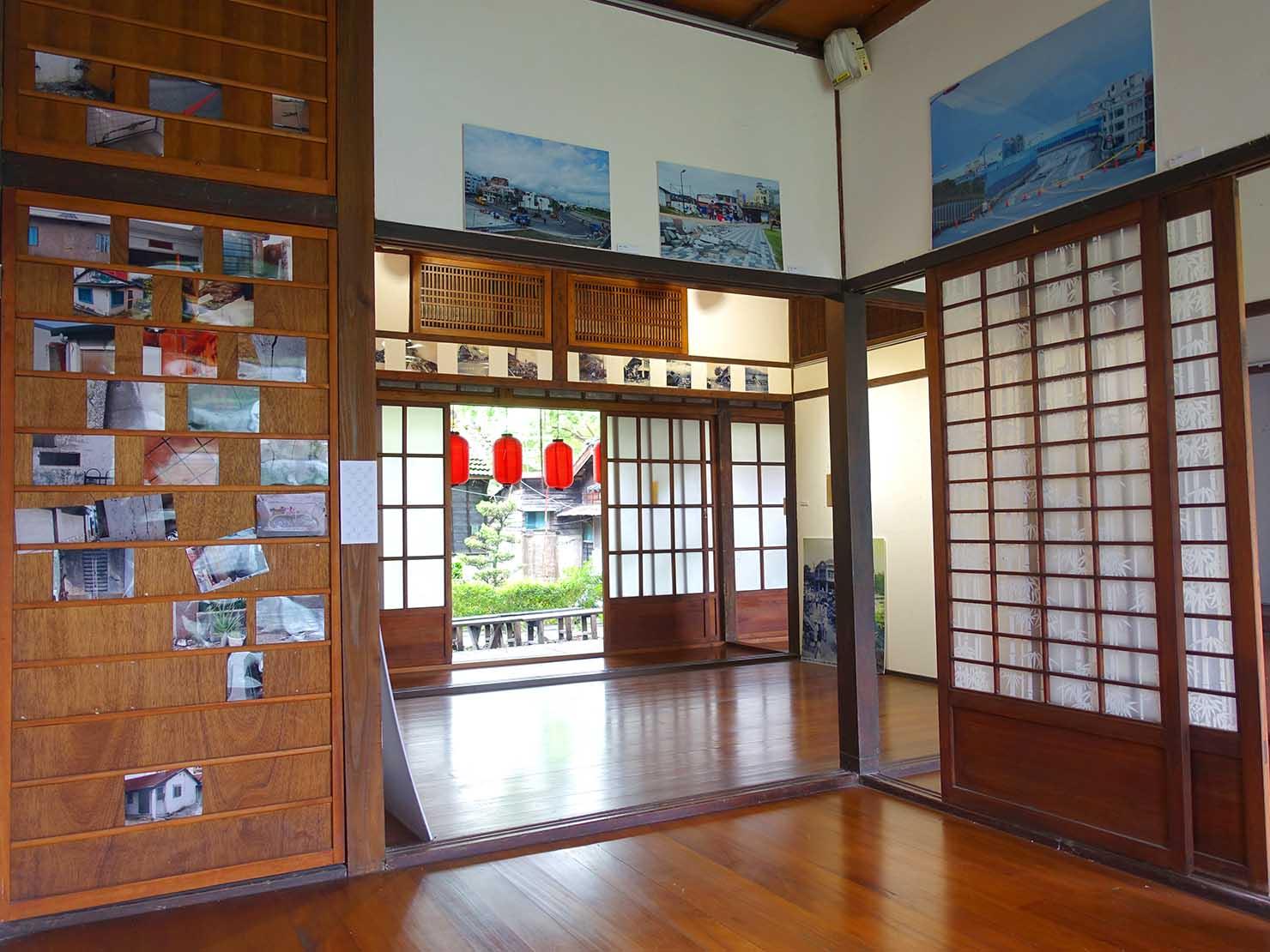 台湾・花蓮のおすすめ観光スポット「將軍府」の建物内