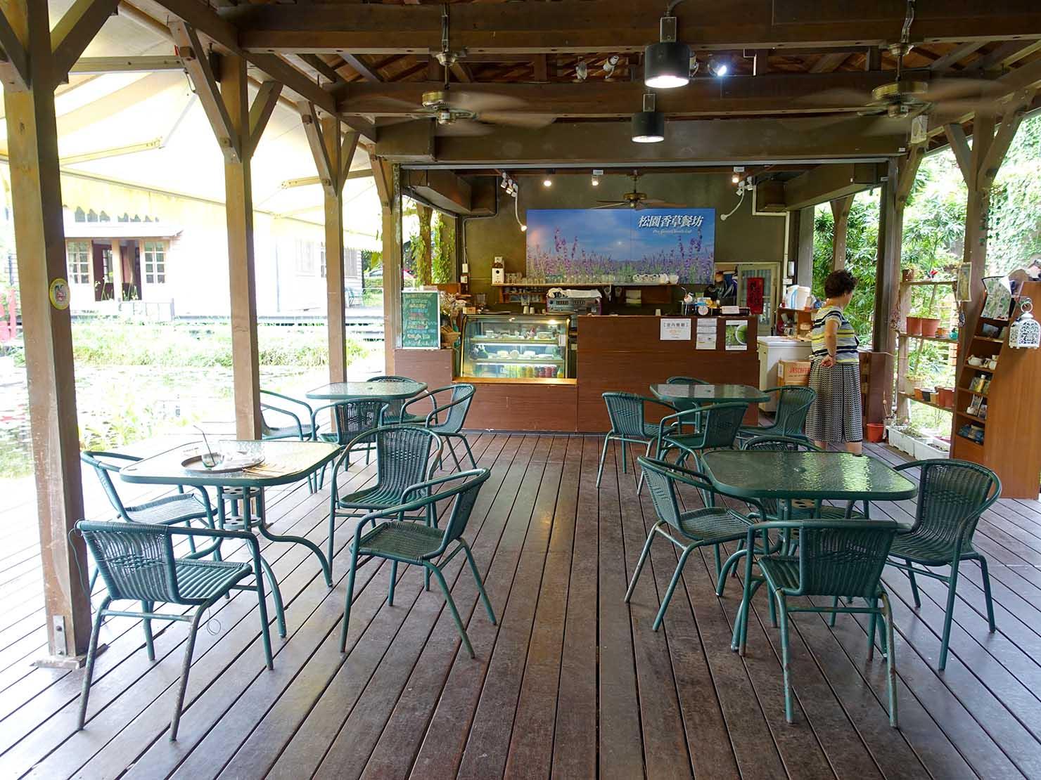 台湾・花蓮のおすすめ観光スポット「松園別館」のカフェテリア