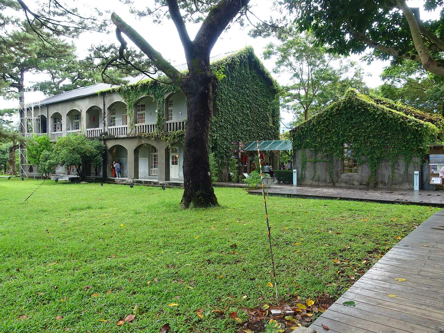 台湾・花蓮のおすすめ観光スポット「松園別館」の外観