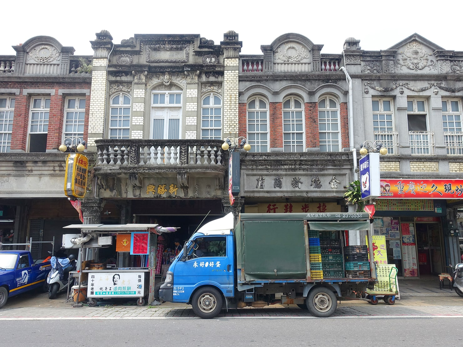 台南市街郊外のおすすめ観光スポット「新化老街」
