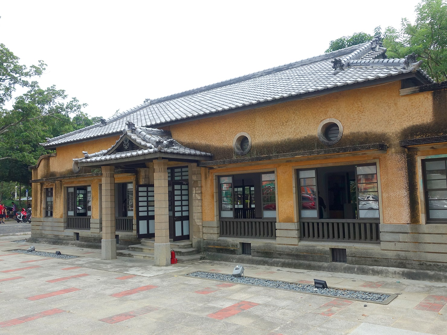 台南市街郊外のおすすめ観光スポット「新化武德殿」の外観