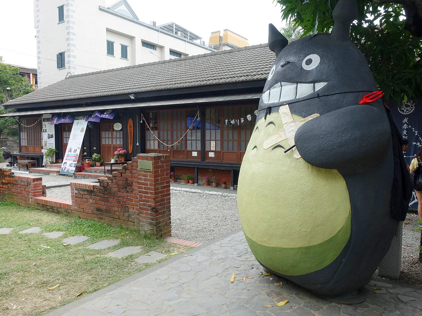 台南市街郊外のおすすめ観光スポット「大目降文化園區」の木造建築