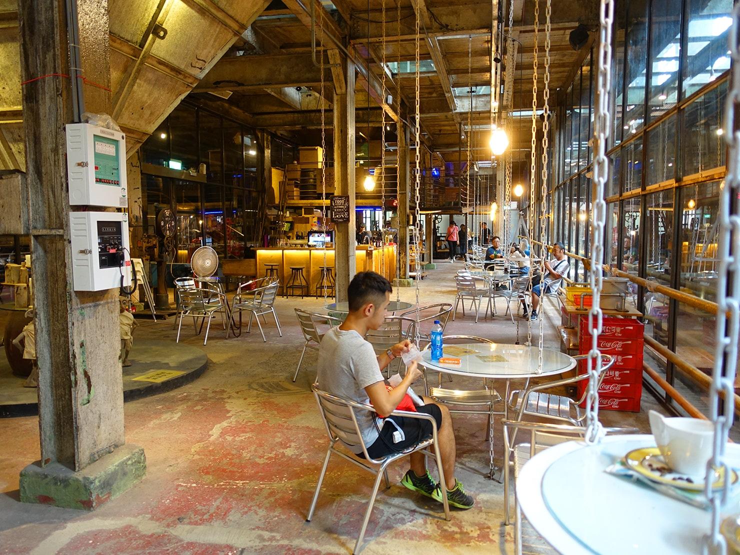 台南市街郊外のおすすめ観光スポット「十鼓仁糖文化園區」のカフェ
