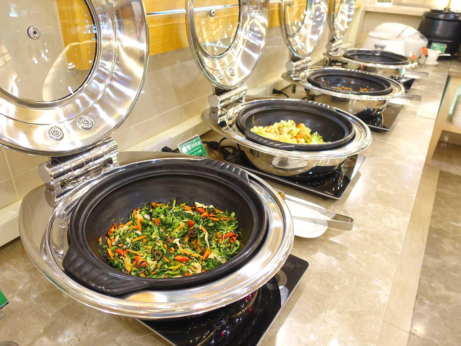 高雄のおすすめチェーンホテル「康橋商旅 Kindness Hotel(漢神館)」朝食ビュッフェのお料理
